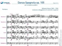 DANZA SPAGNOLA op. 105 in Re (D)