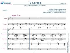 E' CERASE in Do (C)