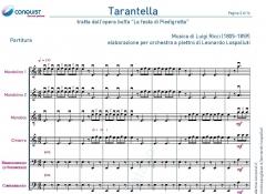 """TARANTELLA dall'opera buffa """"La festa di Piedigrotta"""" in La (A)"""