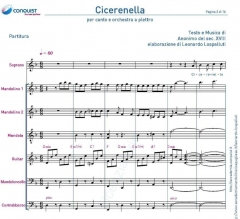 CICERENELLA in Re (D), Mi (E), Fa (F)