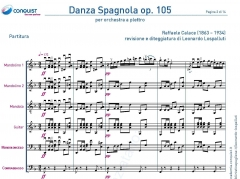 DANZA SPAGNOLA op. 105 in Re (D)