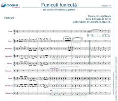 FUNICULI' FUNICULA' in Fa (F)
