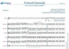 FUNICULI' FUNICULA' in Do (C)